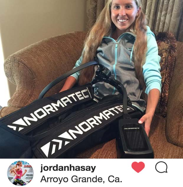 Jordan Hasay after Boston Marathon 2017
