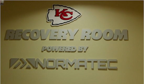 A Look Inside the Chiefs' NormaTec Recovery Room