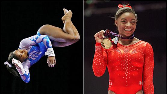 Simone Biles.  USA Women's Gymnastics.